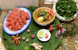Món Cà ri cá của chị Sakya