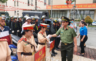 TPHCM mở đợt cao điểm 32 ngày trấn áp tội phạm