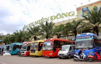 Từ ngày 10/10, di dời một số tuyến xe khách đến Bến xe Miền Đông mới
