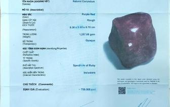Mua đá quý, kim cương có giấy kiểm định, nhưng vẫn là đồ dỏm