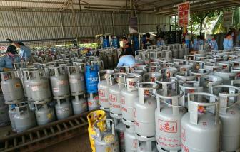 Giá gas bán lẻ tháng 10 tăng 5.000 đồng/bình