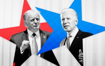 Clip: Màn tranh cãi gay gắt giữa ông Trump và Joe Biden