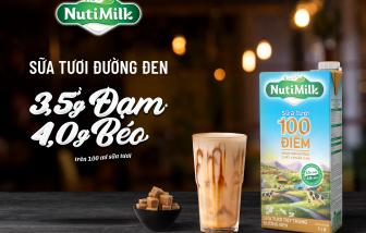 """Sữa đường đen 100 điểm NutiMilk - hương vị ngon tuyệt, giúp mẹ """"dụ"""" bé uống sữa trong tích tắc"""
