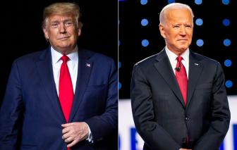 Ông Donald Trump và Joe Biden liên tục công kích nhau trong cuộc tranh luận tổng thống