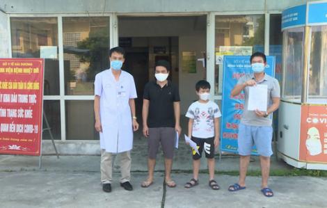 """Ba bệnh nhân cuối cùng xuất viện, Hải Dương """"sạch bóng"""" COVID-19"""
