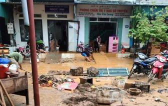 Mưa lớn gây ngập lụt tại Lào Cai, có khả năng hình thành lũ quét