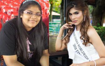 Những cô gái giảm 50kg để trở thành hoa hậu
