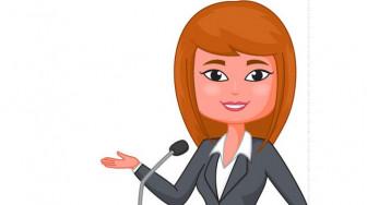 Phụ nữ diễn thuyết