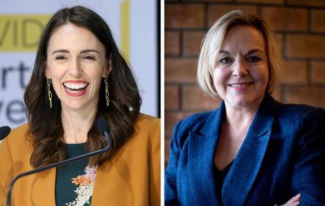 Có 1 cuộc tranh luận chính trị… rất phụ nữ ở New Zealand