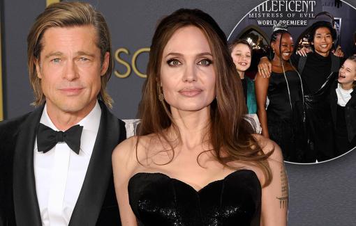 Brad Pitt quyết liệt giành quyền nuôi con với Angelina Jolie