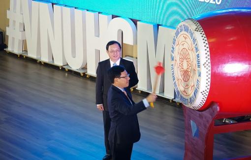 Phó thủ tướng Phạm Bình Minh dự lễ khai khóa Đại học Quốc gia TP.HCM