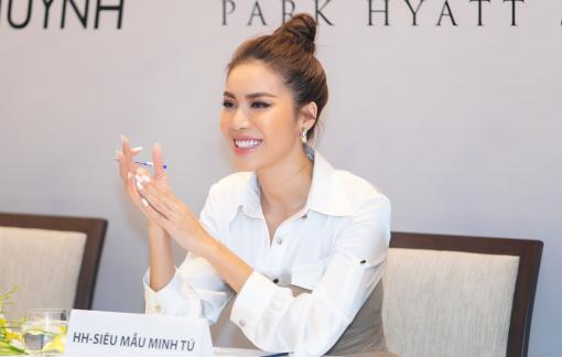 Hết cách ly, Minh Tú xinh đẹp tuyển chọn người mẫu cho show diễn từ thiện