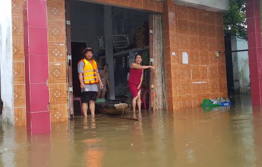 Mưa lũ lớn, Đà Nẵng cho học sinh nghỉ học hết tuần