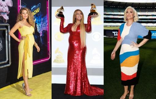 Những chiếc đầm bầu đẹp nhất trong gần 20 năm của sao Hollywood