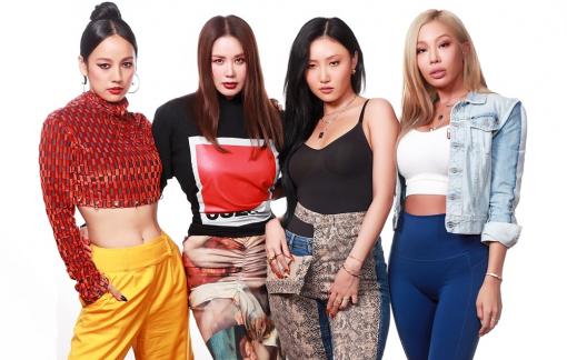 """Bộ tứ """"chị đại"""" vừa ra mắt đã càn quét các bảng xếp hạng âm nhạc K-pop"""