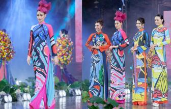 """Hoa hậu Khánh Vân rực rỡ với áo dài """"sắc màu hạnh phúc"""""""