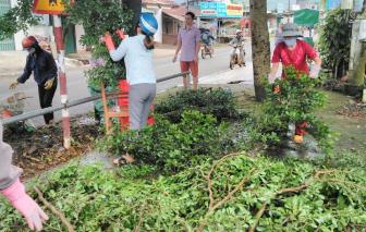'Ngày thứ Bảy xây dựng đô thị văn minh' của phụ nữ Huyện Di Linh