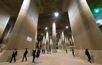 Khám phá ''Ngôi đền'' dưới lòng đất bảo vệ Tokyo khỏi lũ lụt