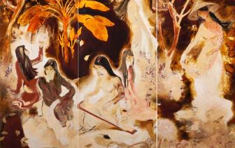 """""""Trữ lượng lớn"""" của hội họa miền Nam ngày càng hấp dẫn"""