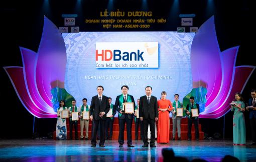 HDBank - Doanh nghiệp tiêu biểu Việt Nam - ASEAN 2020