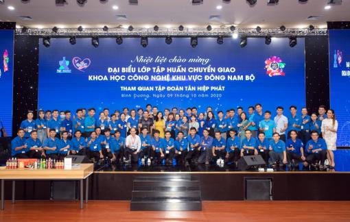 Lớp tập huấn chuyển giao khoa học công nghệ khu vực Đông Nam Bộ tham quan Tập đoàn Tân Hiệp Phát