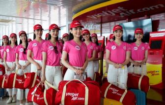 Các người đẹp Hoa hậu Việt Nam 2020 xuất hiện nổi bật tại sân bay