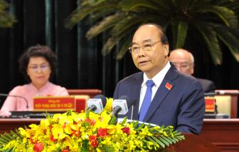 """Thủ tướng Nguyễn Xuân Phúc: """"TPHCM cần đi tiên phong trong việc tạo ra cơ chế, chính sách đột phá"""""""
