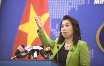 """Việt Nam phản đối Trung Quốc mở rộng hoạt động tại """"thành phố Tam Sa"""""""