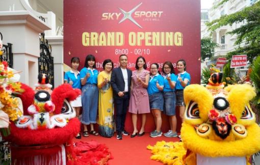 SkyX Sport ra mắt thương hiệu với ưu đãi cực lớn