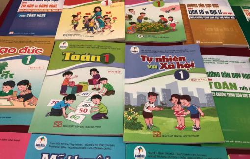 Thống nhất điều chỉnh nội dung trong sách giáo khoa môn Tiếng Việt lớp 1