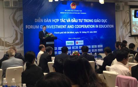 Đầu tư nước ngoài vào giáo dục chiếm tỷ lệ nhỏ so với các ngành kinh tế - xã hội