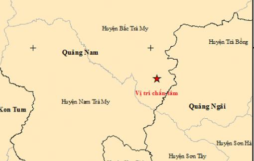 Động đất ở Quảng Nam, Quảng Ngãi