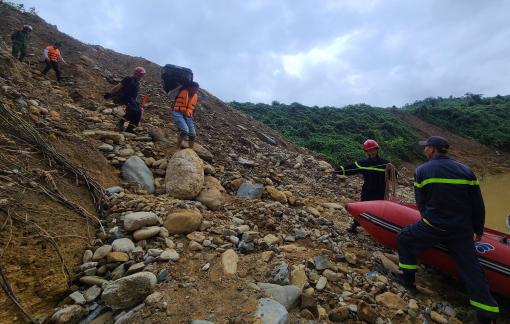 Tìm thấy thi thể thứ 2 bị vùi lấp tại khu vực Thủy điện Rào Trăng 3