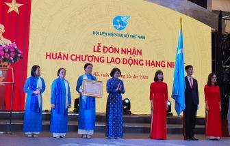 Hội Liên hiệp Phụ nữ Việt Nam được trao tặng Huân chương lao động hạng Nhất