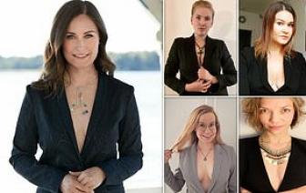 Nữ Thủ tướng Phần Lan gây tranh cãi khi diện áo hở ngực trên tạp chí thời trang
