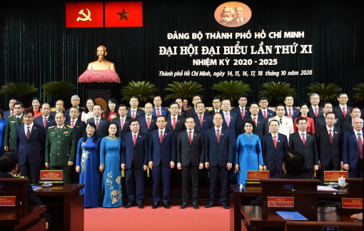 Ra mắt Ban Chấp hành Đảng bộ TPHCM khóa XI, nhiệm kỳ 2020-2025