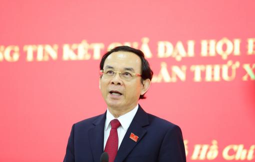 """Bí thư Thành ủy TPHCM Nguyễn Văn Nên: """"Nhiệm vụ và vị trí mới là thử thách lớn"""""""
