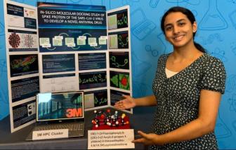 Bé gái 14 tuổi giành giải thưởng lớn cho khám phá có thể chữa khỏi COVID-19