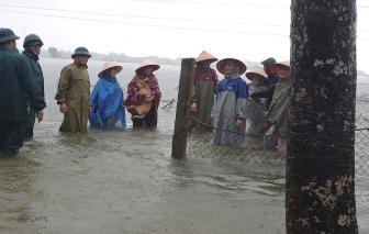 Hà Tĩnh lệnh sơ tán hơn 45.000 người