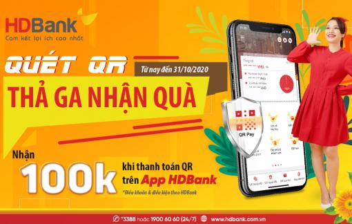 Mừng 20/10, HDBank tặng khách hàng hàng ngàn phần quà và tiền vào tài khoản