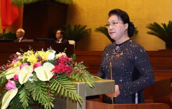 Quốc hội chia sẻ đau thương, mất mát với người dân miền Trung