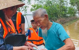 Thuỷ Tiên quyên góp được 100 tỷ đồng, sân khấu hướng về người dân miền Trung