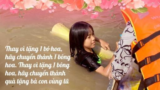 Ngày 20/10, thay vì nhận hoa, phụ nữ chuyển quà cho miền Trung lũ lụt
