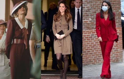 Trang phục mùa thu đẹp nhất của các nhân vật Hoàng gia