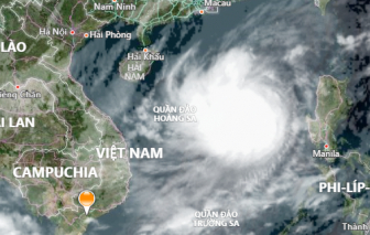 Bão số 8 cách quần đảo Hoàng Sa hơn 300km, biển động dữ dội