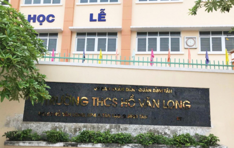 Giáng chức Hiệu trưởng Trường THCS Hồ Văn Long quận Bình Tân