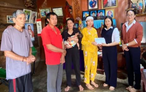 Vụ vợ nạn nhân ở thủy điện Rào Trăng 3 bị lừa:  Gia đình đã nhận được 100 triệu đồng từ ngân hàng