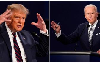 Tổng thống Donald Trump được khen ngợi sau cuộc tranh luận với ông Joe Biden
