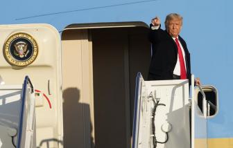 TRỰC TIẾP Tranh luận tổng thống Mỹ: Ông Donald Trump và Biden bước vào cuộc đối đầu cuối cùng