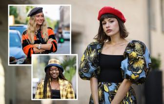 7 chiếc mũ làm 'bừng sáng' phong cách mùa đông